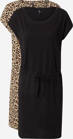 ONLY Kleid 'MAY' in beige / braun / schwarz, Produktansicht
