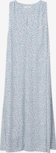 MANGO Kleid 'Kiwi' in hellblau / weiß, Produktansicht