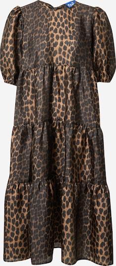 Crās Kleid 'Lilicras' in braun / schwarz, Produktansicht