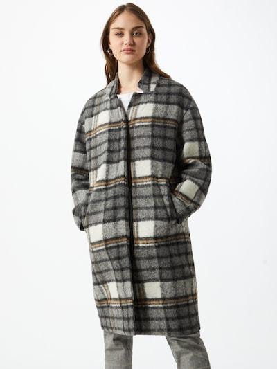 Marc O'Polo DENIM Prechodný kabát - hnedá / tmavosivá / biela, Model/-ka