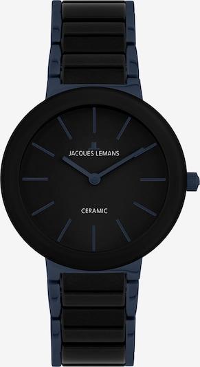 Jacques Lemans Uhr in dunkelblau / schwarz, Produktansicht