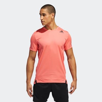 ADIDAS PERFORMANCE Functioneel shirt in de kleur Sinaasappel: Vooraanzicht