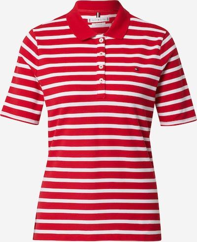 TOMMY HILFIGER Tričko - námornícka modrá / ohnivo červená / biela, Produkt