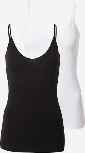 VERO MODA Top in Black / White, Item view