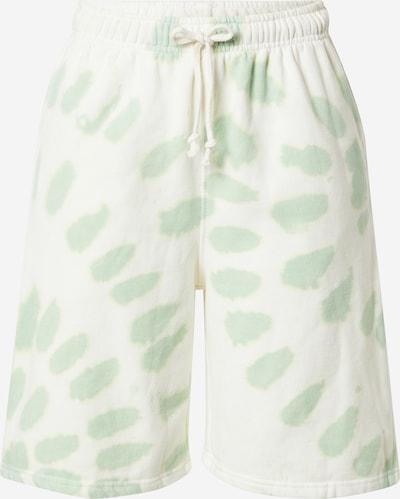 Daisy Street Hose 'LAYLA' in grün / weiß, Produktansicht