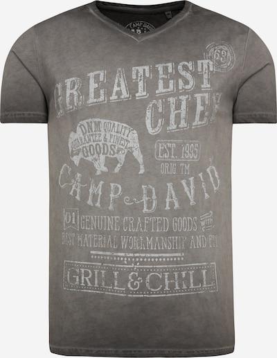 CAMP DAVID T-Shirt in grau, Produktansicht