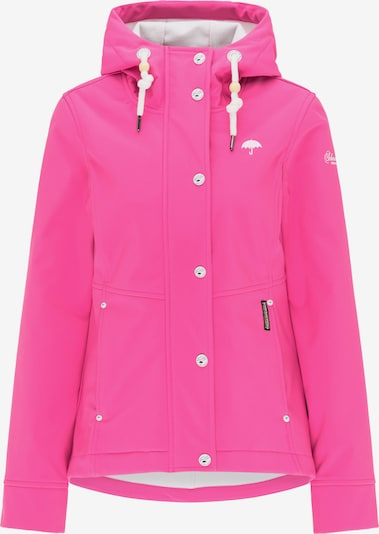Schmuddelwedda Funktionsjacke in pink / weiß, Produktansicht