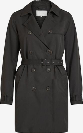 VILA Prijelazni kaput u crna: Prednji pogled