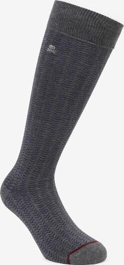 Scalpers Къси чорапи 'Spike' в синьо / сиво / червено / бяло, Преглед на продукта