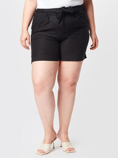 ONLY Carmakoma Shorts 'CARVIVOSA LIFE' in schwarz, Modelansicht