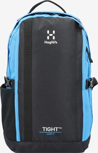 Haglöfs Rucksack in cyanblau / dunkelblau, Produktansicht