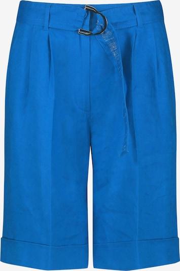TAIFUN Pantalon à pince en bleu roi, Vue avec produit