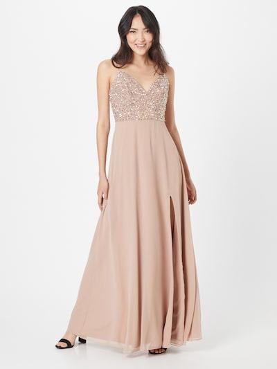 LACE & BEADS Kleid 'Marissa' in pastellpink / perlweiß, Modelansicht