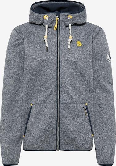 Schmuddelwedda Jacke in dunkelblau / graumeliert, Produktansicht