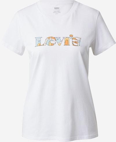 világoskék / narancs / fehér LEVI'S Póló, Termék nézet