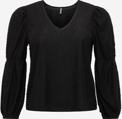 PIECES Curve Shirt 'GERALDINE' in de kleur Zwart, Productweergave