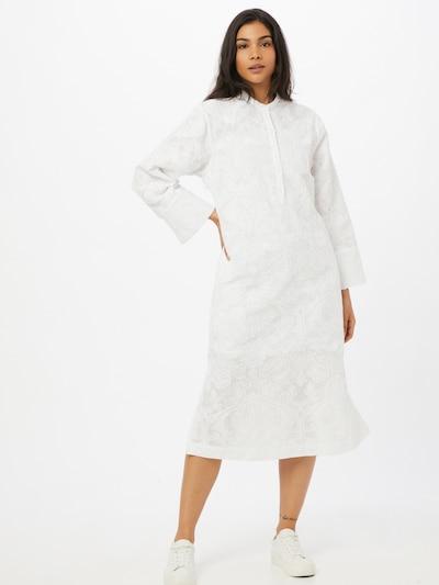 Rochie tip bluză 'Jute' Samsoe Samsoe pe alb murdar, Vizualizare model