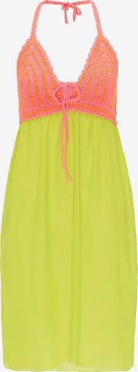 MYMO Kleid in neongrün / pink, Produktansicht