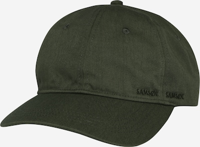 Șapcă 'Aribo' Samsoe Samsoe pe oliv, Vizualizare produs