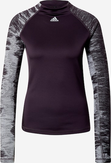 ADIDAS PERFORMANCE Functioneel shirt in de kleur Lichtblauw / Purper / Wit, Productweergave