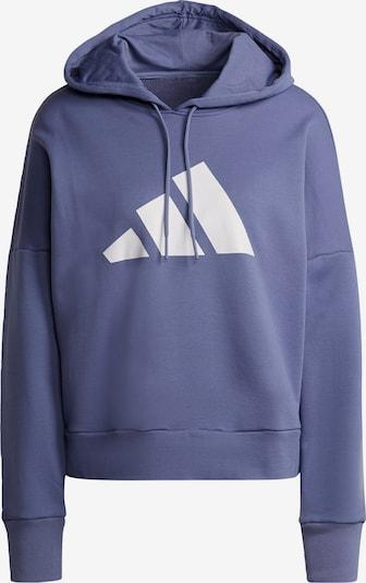 ADIDAS PERFORMANCE Sports sweatshirt in Dark purple / White, Item view
