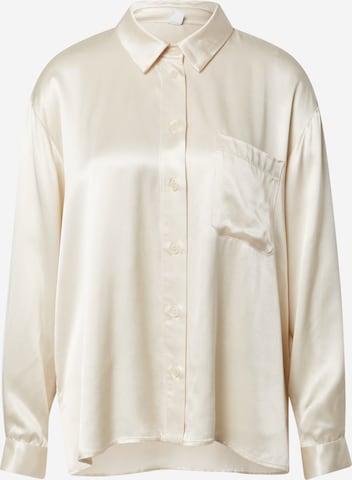 A LOT LESS Bluse 'Juna' in Beige
