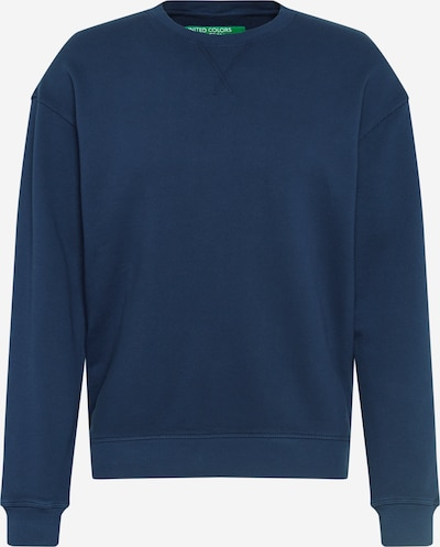 UNITED COLORS OF BENETTON Sweatshirt in nachtblau, Produktansicht