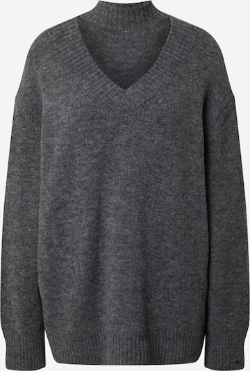 EDITED Пуловер Oversize 'Jamari' в сиво / сив меланж, Преглед на продукта