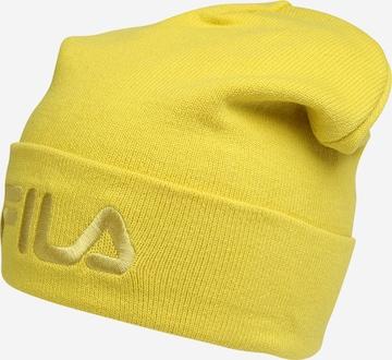 FILA Müts 'Slouchy', värv kollane