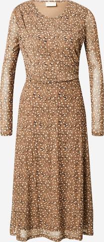 VILA Dress 'Gorgeous' in Brown