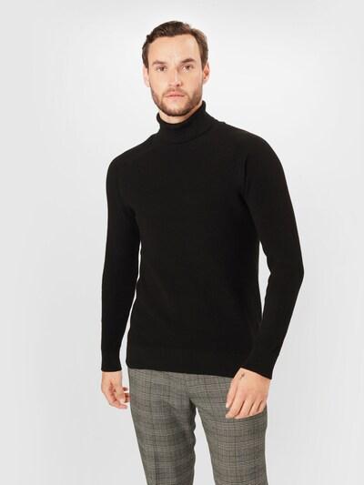 JACK & JONES Pullover i sort, Modelvisning