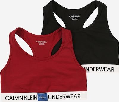 Calvin Klein Underwear BH in weinrot / schwarz, Produktansicht