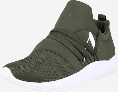 ARKK Copenhagen Sneaker 'Raven Mesh S-E15' in dunkelgrün, Produktansicht