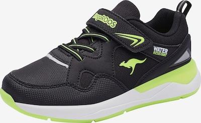 KangaROOS Sneaker in limette / schwarz, Produktansicht