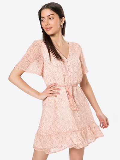 VILA Sukienka 'FALIA' w kolorze kremowy / koralowym, Podgląd na modelu(-ce)