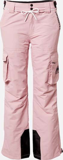 Superdry Snow Outdoorbroek 'Freestyle' in de kleur Rosa / Zwart, Productweergave