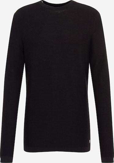 TOM TAILOR DENIM Pulover | črna barva, Prikaz izdelka