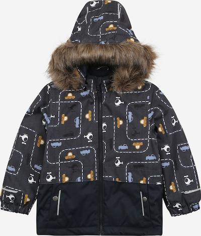 NAME IT Zimska jakna 'NMMSNOW08' u bež / tamno plava / bijela, Pregled proizvoda