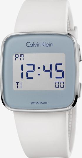 Calvin Klein Sporthorloge 'K5C21UM' in de kleur Grijs / Wit, Productweergave