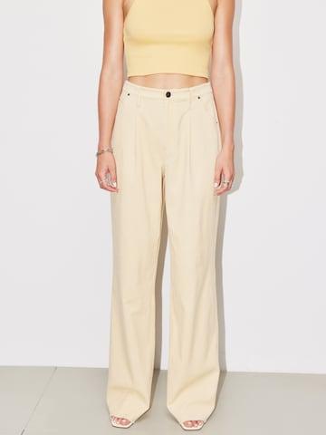 LeGer by Lena Gercke Plissert bukse 'Tatjana' i beige
