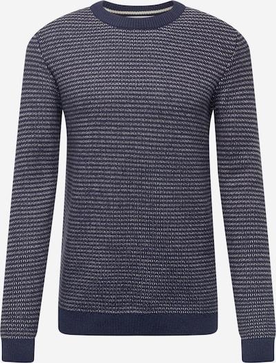 SELECTED HOMME Džemperis 'WES', krāsa - tumši zils / balts, Preces skats