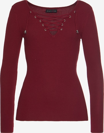 MELROSE Pullover in Rot