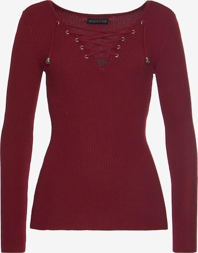MELROSE Pullover in dunkelrot, Produktansicht