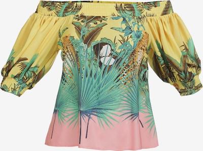 IZIA Bluse in blau / gelb / rosa, Produktansicht