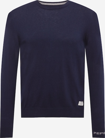 Pepe Jeans Pullover 'ANDRE' in navy / weiß, Produktansicht