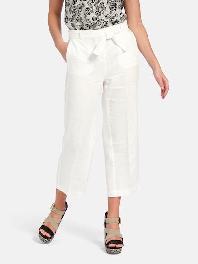 Basler Hose in weiß, Modelansicht