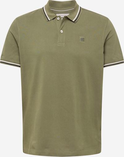 bugatti Poloshirt in dunkelblau / khaki / weiß, Produktansicht