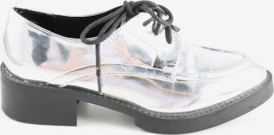 ZARA Schnürschuhe in 36 in silber, Produktansicht
