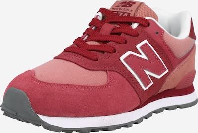 new balance Sneaker in rot / weiß, Produktansicht