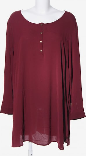 Zizzi Langarm-Bluse in L in rot, Produktansicht